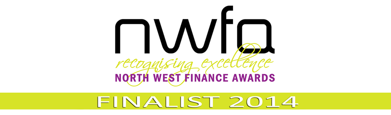 North West Finance Awards Finalist 2014